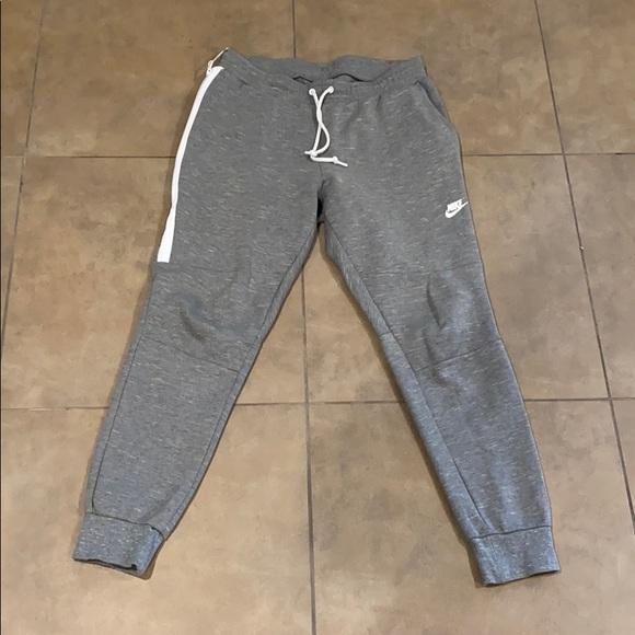 Mens Nike Sportswear Tech Fleece Jogger Pants Large Gray